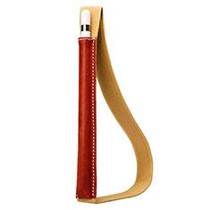Housse en Cuir Protection Sac Pochette Elastique Douille de Poche Detachable P01 pour Apple Pencil Apple iPad Pro 10.5 Rouge