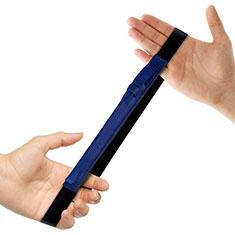 Housse en Cuir Protection Sac Pochette Elastique Douille de Poche Detachable P03 pour Apple Pencil Apple iPad Pro 12.9 (2017) Bleu
