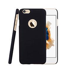Housse Plastique Rigide avec Trou Mat pour Apple iPhone 6S Plus Noir