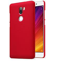 Housse Plastique Rigide Mailles Filet pour Xiaomi Mi 5S Plus Rouge