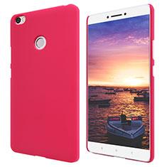 Housse Plastique Rigide Mailles Filet pour Xiaomi Mi Max Rouge