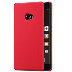 Housse Plastique Rigide Mailles Filet pour Xiaomi Mi Note 2 Rouge