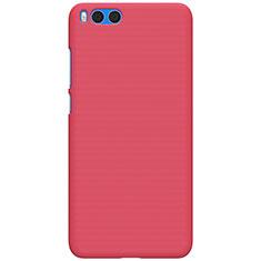 Housse Plastique Rigide Mailles Filet pour Xiaomi Mi Note 3 Rouge