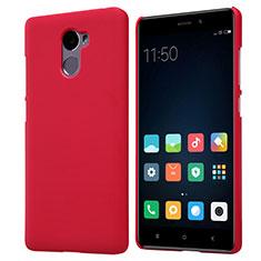 Housse Plastique Rigide Mailles Filet pour Xiaomi Redmi 4 Standard Edition Rouge