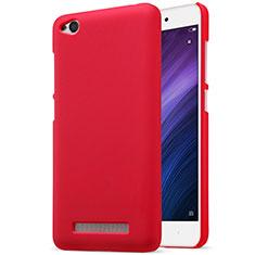 Housse Plastique Rigide Mailles Filet pour Xiaomi Redmi 4A Rouge