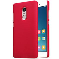 Housse Plastique Rigide Mailles Filet pour Xiaomi Redmi Note 4 Standard Edition Rouge