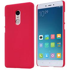 Housse Plastique Rigide Mailles Filet pour Xiaomi Redmi Note 4X High Edition Rouge