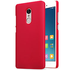 Housse Plastique Rigide Mailles Filet pour Xiaomi Redmi Note 4X Rouge