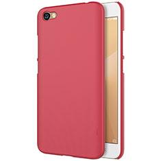 Housse Plastique Rigide Mailles Filet pour Xiaomi Redmi Note 5A Standard Edition Rouge