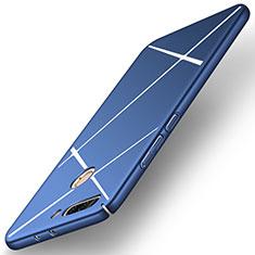 Housse Plastique Rigide Mat Line pour Huawei Honor 8 Pro Bleu