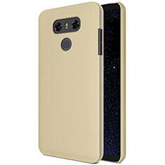 Housse Plastique Rigide Mat M01 pour LG G6 Or