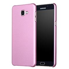 Housse Plastique Rigide Mat M01 pour Samsung Galaxy A7 (2017) A720F Or Rose