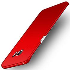 Housse Plastique Rigide Mat M01 pour Samsung Galaxy S6 Edge SM-G925 Rouge