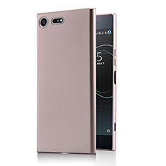 Housse Plastique Rigide Mat M01 pour Sony Xperia XZ Premium Or Rose