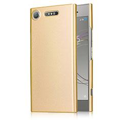 Housse Plastique Rigide Mat M01 pour Sony Xperia XZ1 Or