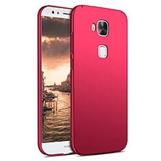 Housse Plastique Rigide Mat M02 pour Huawei G8 Rouge