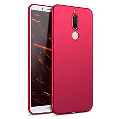 Housse Plastique Rigide Mat M02 pour Huawei Mate 10 Lite Rouge