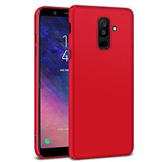 Housse Plastique Rigide Mat M02 pour Samsung Galaxy A9 Star Lite Rouge