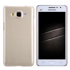Housse Plastique Rigide Mat M02 pour Samsung Galaxy Grand Prime 4G G531F Duos TV Or
