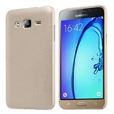 Housse Plastique Rigide Mat M02 pour Samsung Galaxy J3 (2016) J320F J3109 Or