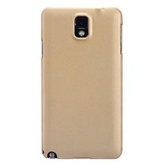 Housse Plastique Rigide Mat M02 pour Samsung Galaxy Note 3 N9000 Or
