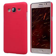 Housse Plastique Rigide Mat M02 pour Samsung Galaxy On5 G550FY Rouge