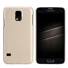 Housse Plastique Rigide Mat M02 pour Samsung Galaxy S5 Duos Plus Or