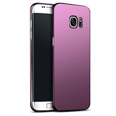 Housse Plastique Rigide Mat M02 pour Samsung Galaxy S6 Edge+ Plus SM-G928F Violet