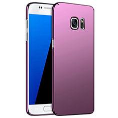 Housse Plastique Rigide Mat M02 pour Samsung Galaxy S7 G930F G930FD Violet