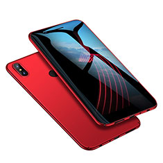 Housse Plastique Rigide Mat M02 pour Xiaomi Redmi Note 5 AI Dual Camera Rouge