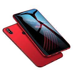 Housse Plastique Rigide Mat M02 pour Xiaomi Redmi Note 5 Pro Rouge