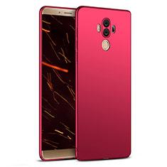 Housse Plastique Rigide Mat M03 pour Huawei Mate 10 Pro Rouge