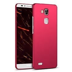 Housse Plastique Rigide Mat M03 pour Huawei Mate 7 Rouge