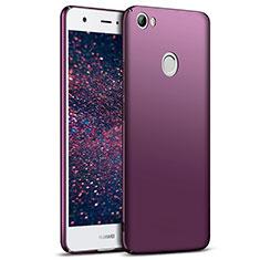 Housse Plastique Rigide Mat M03 pour Huawei Nova Violet