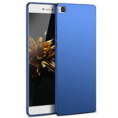Housse Plastique Rigide Mat M03 pour Huawei P8 Bleu