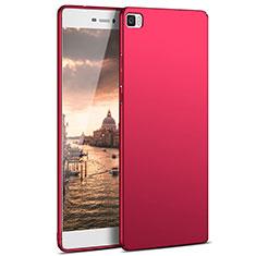 Housse Plastique Rigide Mat M03 pour Huawei P8 Lite Rouge