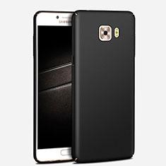 Housse Plastique Rigide Mat M03 pour Samsung Galaxy C7 Pro C7010 Noir