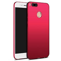 Housse Plastique Rigide Mat M03 pour Xiaomi Mi 5X Rouge