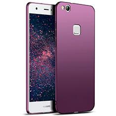 Housse Plastique Rigide Mat M04 pour Huawei Honor 8 Lite Violet