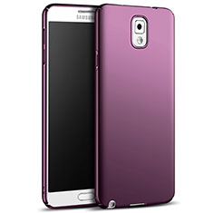 Housse Plastique Rigide Mat M05 pour Samsung Galaxy Note 3 N9000 Violet