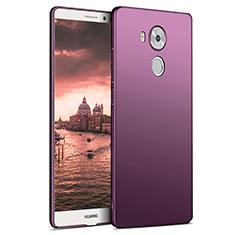 Housse Plastique Rigide Mat M06 pour Huawei Mate 8 Violet