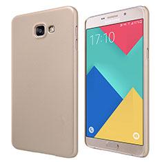 Housse Plastique Rigide Mat M06 pour Samsung Galaxy A9 Pro (2016) SM-A9100 Or