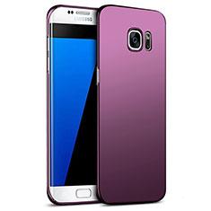 Housse Plastique Rigide Mat M09 pour Samsung Galaxy S7 Edge G935F Violet