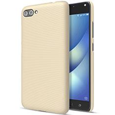 Housse Plastique Rigide Mat pour Asus Zenfone 4 Max ZC554KL Or