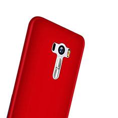 Housse Plastique Rigide Mat pour Asus Zenfone Selfie ZD551KL Rouge