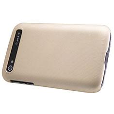 Housse Plastique Rigide Mat pour Blackberry Classic Q20 Or