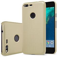 Housse Plastique Rigide Mat pour Google Pixel Or