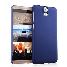 Housse Plastique Rigide Mat pour HTC One E9 Plus Bleu