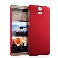 Housse Plastique Rigide Mat pour HTC One E9 Plus Rouge