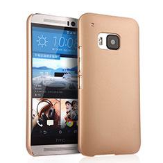 Housse Plastique Rigide Mat pour HTC One M9 Or